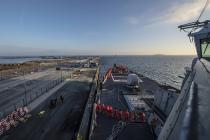 Американские корабли совершают портовые визиты