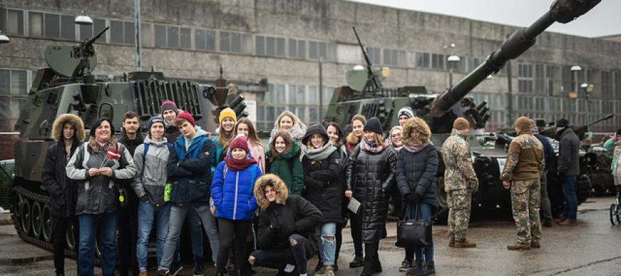Мероприятия в честь 100-летия Латвийской армии