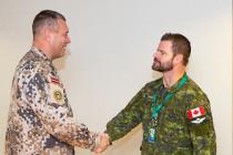 Канадский генерал приезжал в Латвию