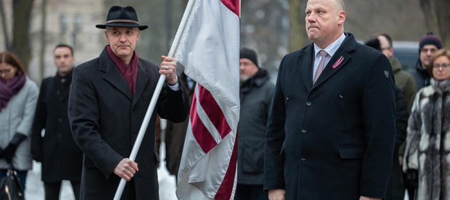 Новый министр обороны Латвии Артис Пабрикс
