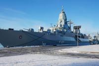Корабли ВМС Германии пришли в Ригу