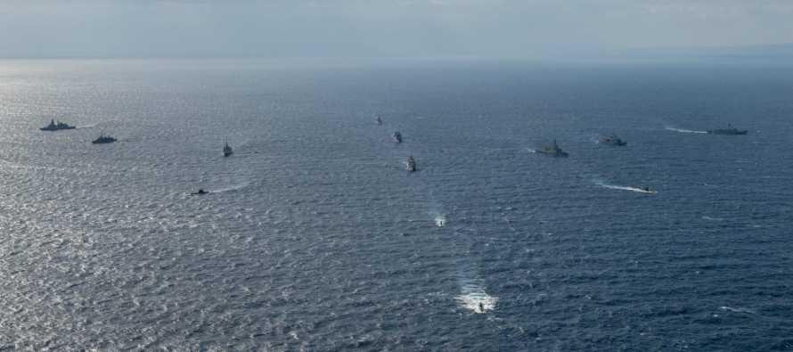 Противолодочное учение ВМС стран НАТО