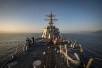 Эсминец Donald Cook возвращается в Чёрное море