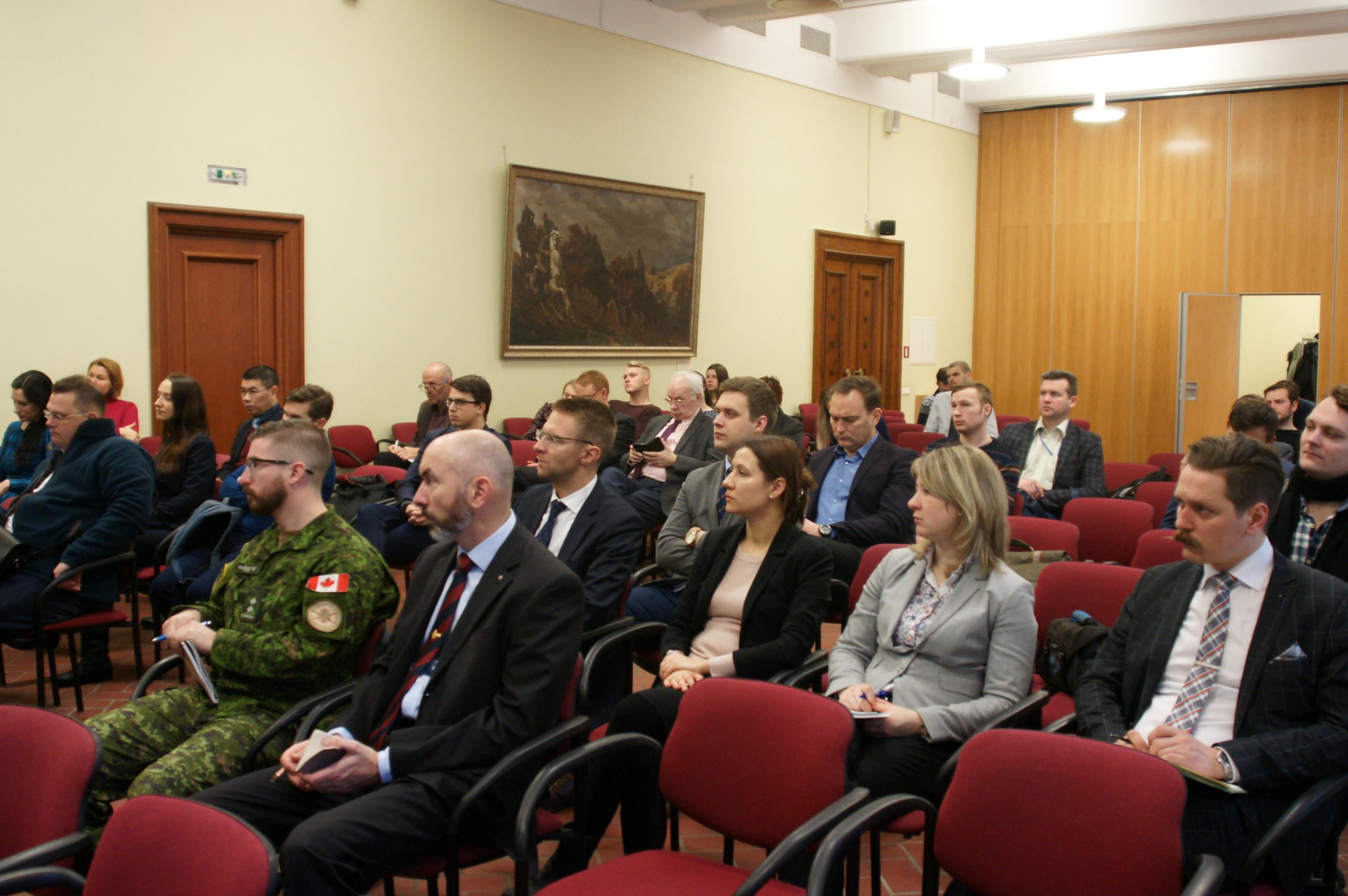 Лекция Сергея Уткина в Военном музее