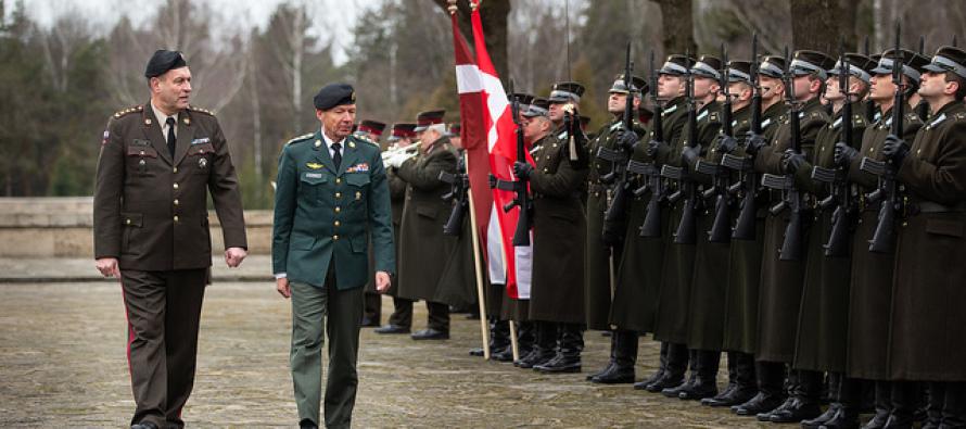 Визит командующего армией Дании