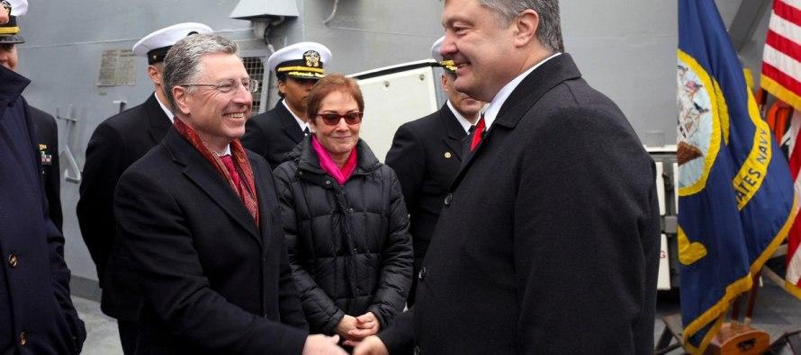 Эсминец USS Donald Cook ушёл из Одессы