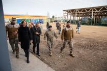 Визит министра обороны Латвии Пабрикса в Кулдигу
