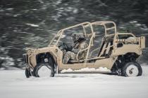 Латвийская армия осваивает внедорожники «Polaris»