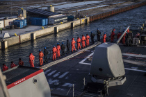 Эсминец USS Porter 4 февраля ушёл из Копенгагена