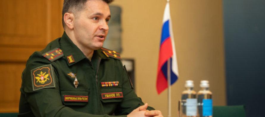 Новый военный атташе России в Латвии