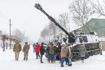 Канадцы обучали латвийских артиллеристов