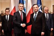 Визит Генерального секретаря НАТО в Польшу