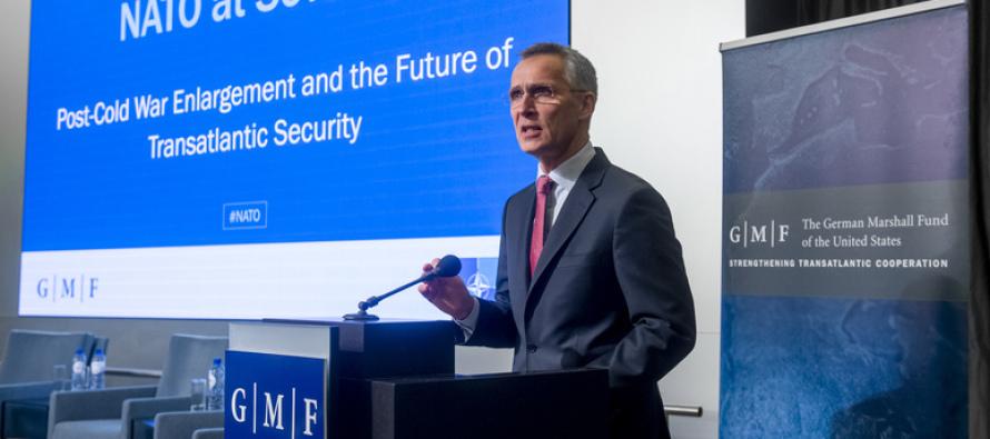 Генсек НАТО высоко оценил политику открытых дверей