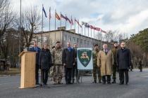 Штаб-квартиру дивизии «Север» открыли в Адажи