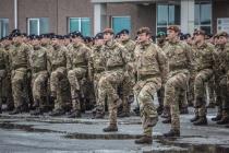 Прошла смена личного состава Британского контингента