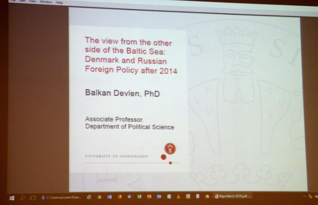 Лекция в Военном музее. Датский взгляд