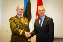 Визит командира Сил обороны Эстонии