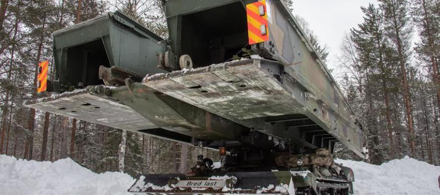 Норвегия покупает мостоукладчики Leguan