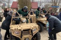 Пограничники встретились с жителями в Лудзе