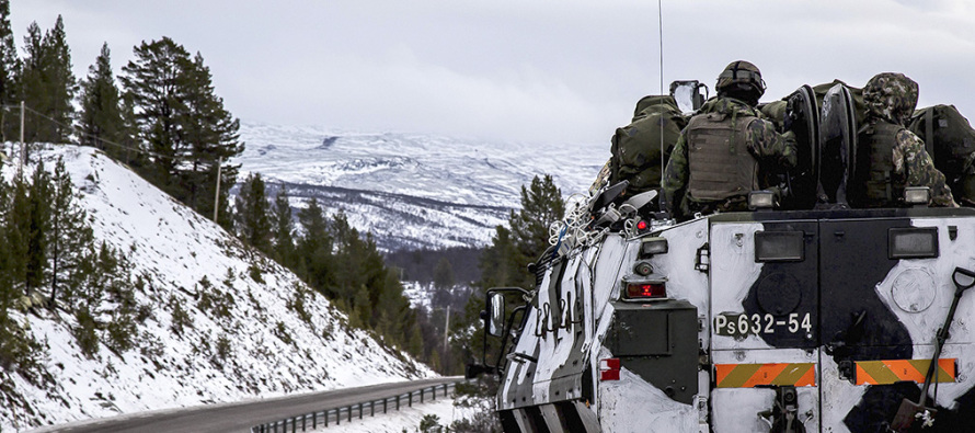 Упражнение «Северный ветер 2019» на севере Швеции