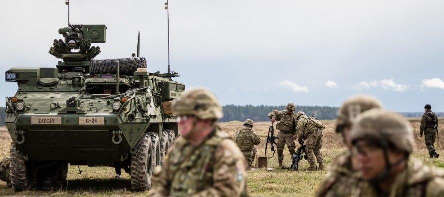База хранения военной техники США строится в Польше