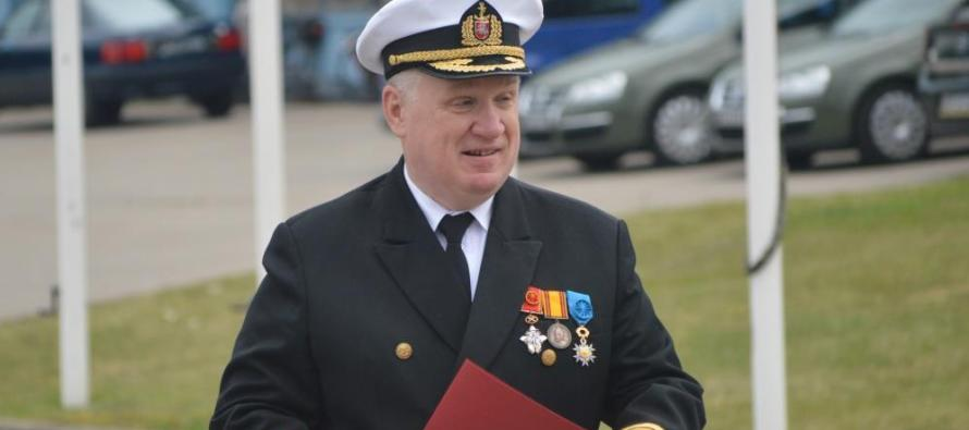 Адмирала Кeстутиса Мачаускаса проводили на пенсию