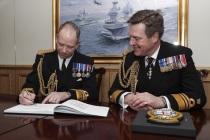 Назначен новый командующий Королевским флотом