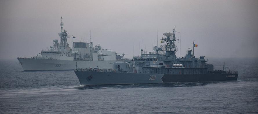 Упражнение НАТО в Чёрном море