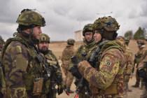 Боевая группа НАТО проводит упражнение в Литве