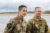 Военные США спасли жизнь мужчине в Латвии