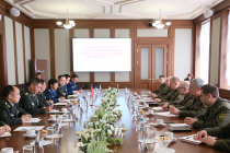 В рамках военного сотрудничества