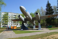 Субботник в авиационном гарнизоне Скулте