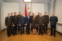 Эстер Пумпура военный капеллан Латвийской армии