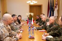Визит Начальника Генштаба Войска Польского в Латвию