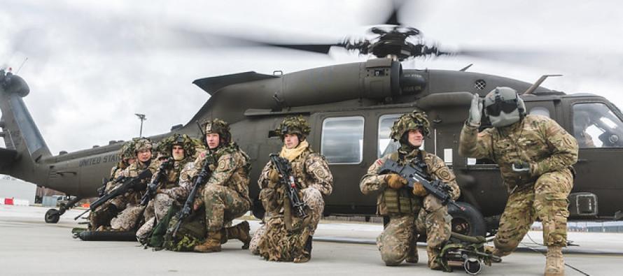 Военные учения «Testudo Soaring»