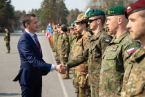 Визит министра обороны Черногории в Латвию