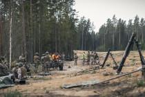 Ежегодные учения «Весенний шторм» проходят в Эстонии