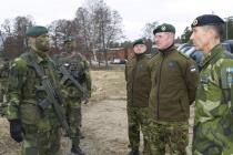 Визит в Швецию командующего Силами обороны Эстонии