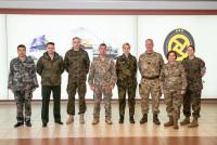 Военные атташе посетили подразделения НВС и Земессардзе