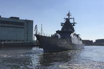 Корвет «Гремящий» вышел в Финский залив на испытания