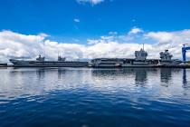 HMS Queen Elizabeth прошел осмотр в сухом доке