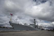 Корабли военно-морских сил стран НАТО прибыли в Ригу