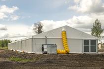 Новые каркасные палатки НАТО