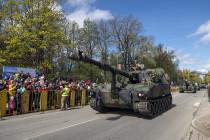 В Екабпилсе 4-го мая прошёл День вооружённых сил