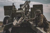 Литовские артиллеристы стреляли в Адажи