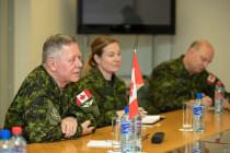 Визит в Латвию командующего вооружёнными силами Канады