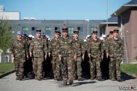 Французские военные сменили бельгийский контингент