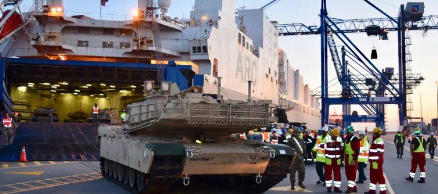 США готовятся к развёртыванию тяжёлой дивизии в Европе