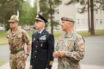 Командующий вооруженными силами Италии посетил Латвию