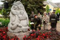 Память о репрессированных военнослужащих в Литене